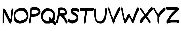 Typeecanoe Font UPPERCASE