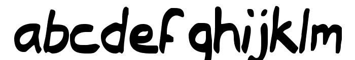 Typeecanoe Font LOWERCASE