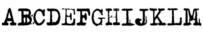 Typenoksidi Font UPPERCASE