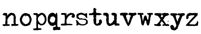 Typenoksidi Font LOWERCASE