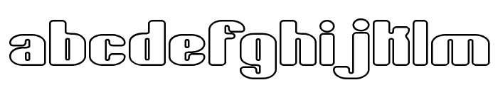 Typesource Extol O BRK Font LOWERCASE