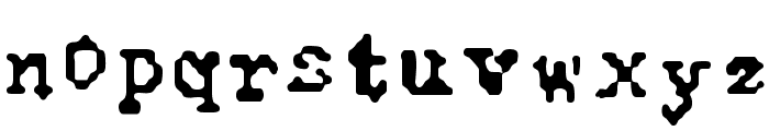 Typewise Alpha Font LOWERCASE