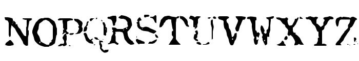 Typewriter-Font [Royal 200] Font UPPERCASE