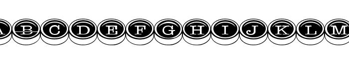 TypewriterKeys Font LOWERCASE