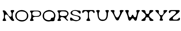 Typewrong Font LOWERCASE