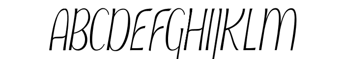 Typha Latifolia Demo-Medium Font UPPERCASE