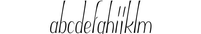 Typha Latifolia Demo-Medium Font LOWERCASE