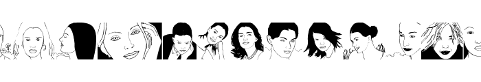 TypicalFaces Font UPPERCASE