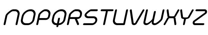 Typo Angular Rounded Demo Italic Font UPPERCASE