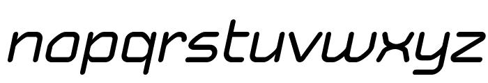 Typo Angular Rounded Demo Italic Font LOWERCASE