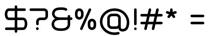 Typo Angular Rounded Demo Font OTHER CHARS