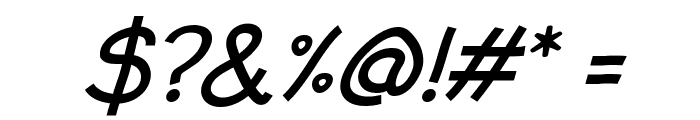 Typo Comica Italic Font OTHER CHARS