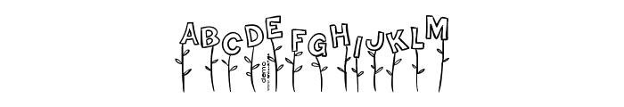 Typo Garden Demo Font LOWERCASE