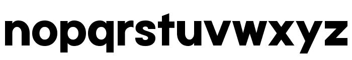 Typo Gotika Black Demo Font LOWERCASE