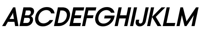 Typo Gotika Demo Bold Italic Font UPPERCASE