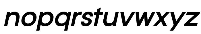 Typo Gotika Demo Bold Italic Font LOWERCASE