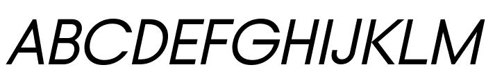 Typo Gotika Demo Italic Font UPPERCASE