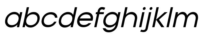 Typo Gotika Demo Italic Font LOWERCASE