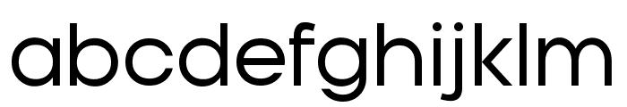 Typo Gotika Demo Font LOWERCASE
