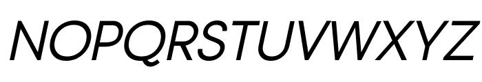 Typo Gotika Small Caps Demo Italic Font UPPERCASE