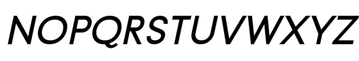 Typo Gotika Small Caps Demo Italic Font LOWERCASE