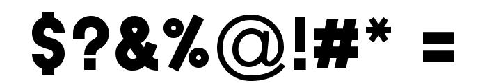 Typo Grotesk Black Font OTHER CHARS