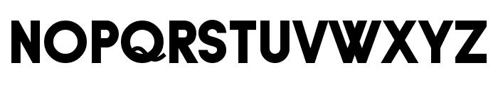 Typo Grotesk Black Font UPPERCASE