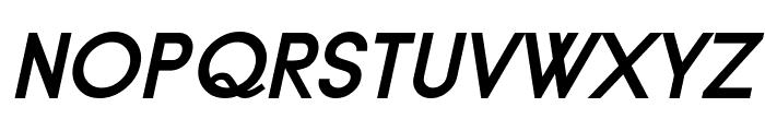 Typo Grotesk Bold Italic Font UPPERCASE