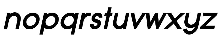 Typo Grotesk Bold Italic Font LOWERCASE