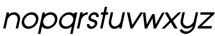 Typo Grotesk Italic Font LOWERCASE