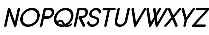 Typo Grotesk Rounded Italic Font UPPERCASE