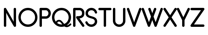 Typo Grotesk Rounded Font UPPERCASE