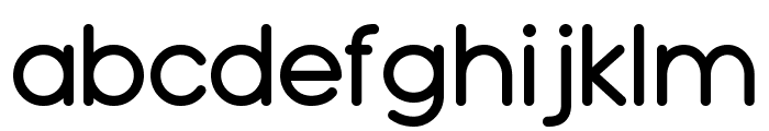 Typo Grotesk Rounded Font LOWERCASE