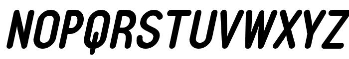 Typo Quik Demo Bold Italic Font UPPERCASE