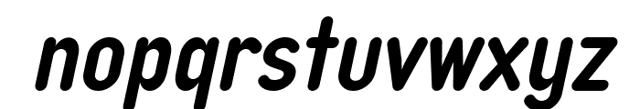 Typo Quik Demo Bold Italic Font LOWERCASE