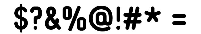 Typo Quik Demo Bold Font OTHER CHARS