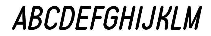 Typo Quik Demo Italic Font UPPERCASE