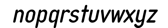 Typo Quik Demo Italic Font LOWERCASE