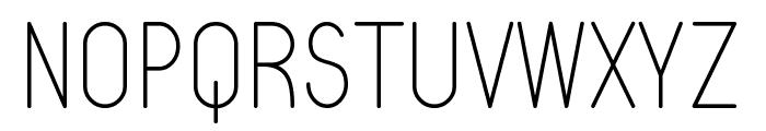 Typo Quik Thin Demo Font UPPERCASE