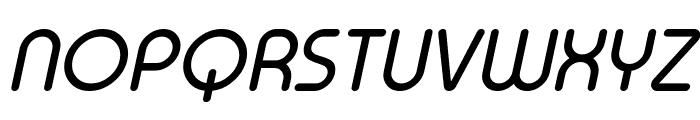 Typo Round Italic Demo Font UPPERCASE