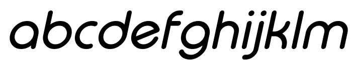 Typo Round Italic Demo Font LOWERCASE