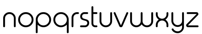 Typo Round Light Demo Font LOWERCASE