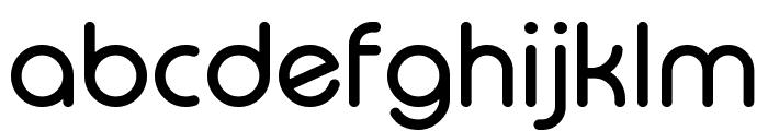Typo Round Regular Demo Font LOWERCASE