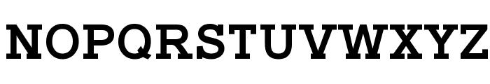 Typo Slab Bold Font UPPERCASE