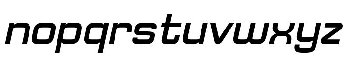 Typo Square Bold Italic Demo Font LOWERCASE