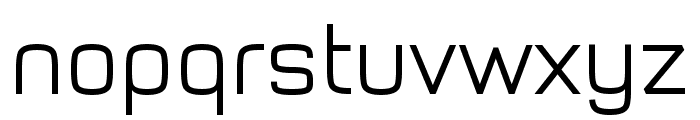 Typo Style Light Demo Font LOWERCASE