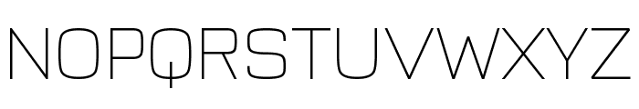 Typo Style Thin Demo Font UPPERCASE