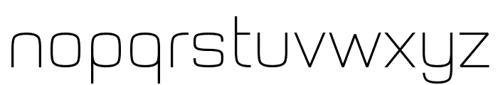 Typo Style Thin Demo Font LOWERCASE
