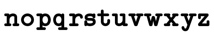 Typo Writer Demo Bold Font LOWERCASE