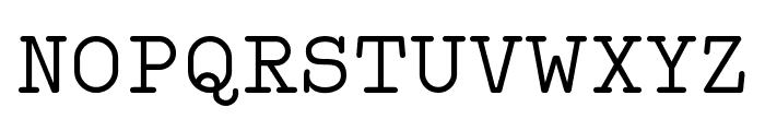 Typo Writer Demo Font UPPERCASE